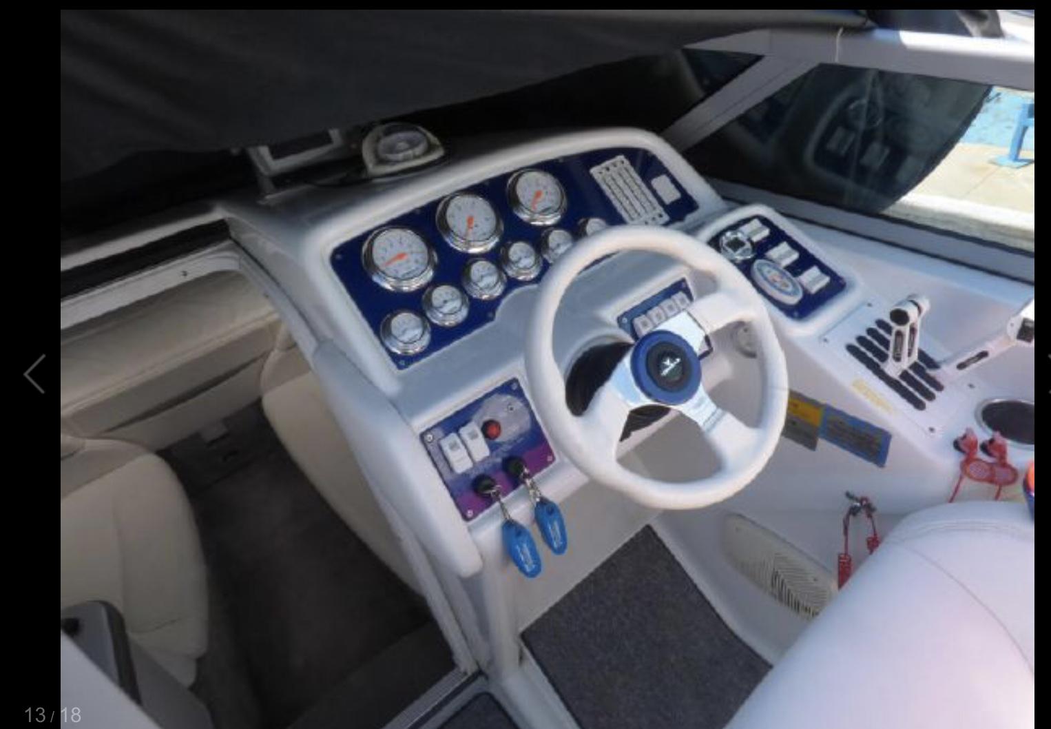 Boat Cockpit